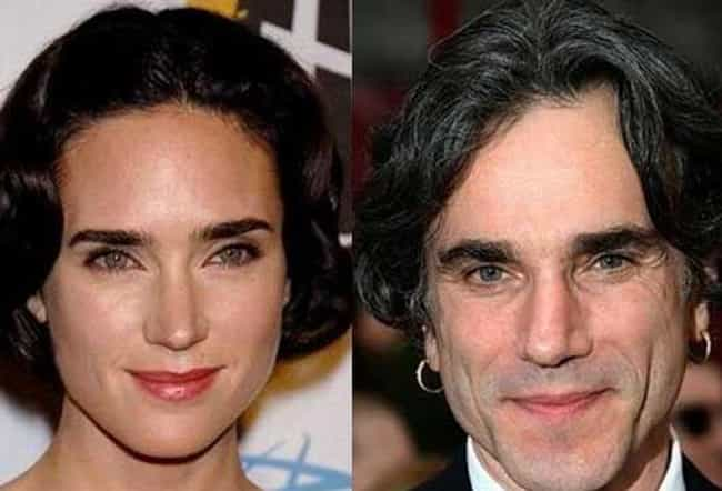 Jennifer Connelly and Daniel D... is listed (or ranked) 5 on the list Female Celebrities Who REALLY Look Like Male Celebrities