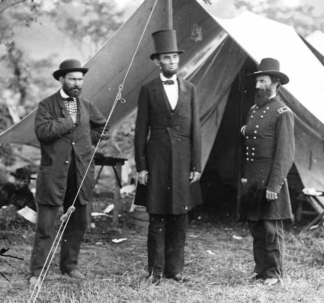 The Shot Through The Hat... is listed (or ranked) 1 on the list The Weirdest Lincoln Assassination Conspiracy Theories
