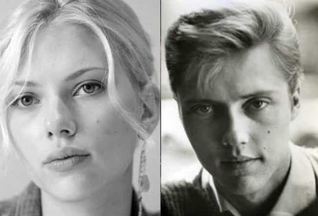Scarlett Johansson and C... is listed (or ranked) 2 on the list Female Celebrities Who REALLY Look Like Male Celebrities
