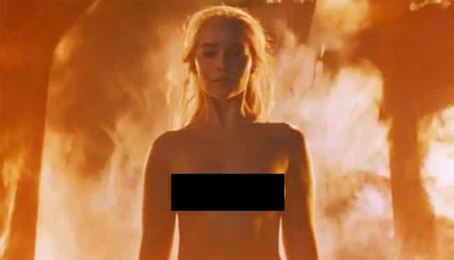 Emilia Clark Was Proud to Show... is listed (or ranked) 4 on the list Behind the Scenes Facts About Burning the Khals