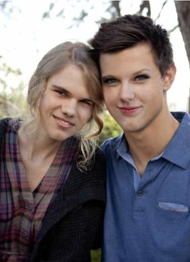 The Two Taylors is listed (or ranked) 3 on the list 25 Celebrity Couple Face Swaps That Are Too Funny For Words