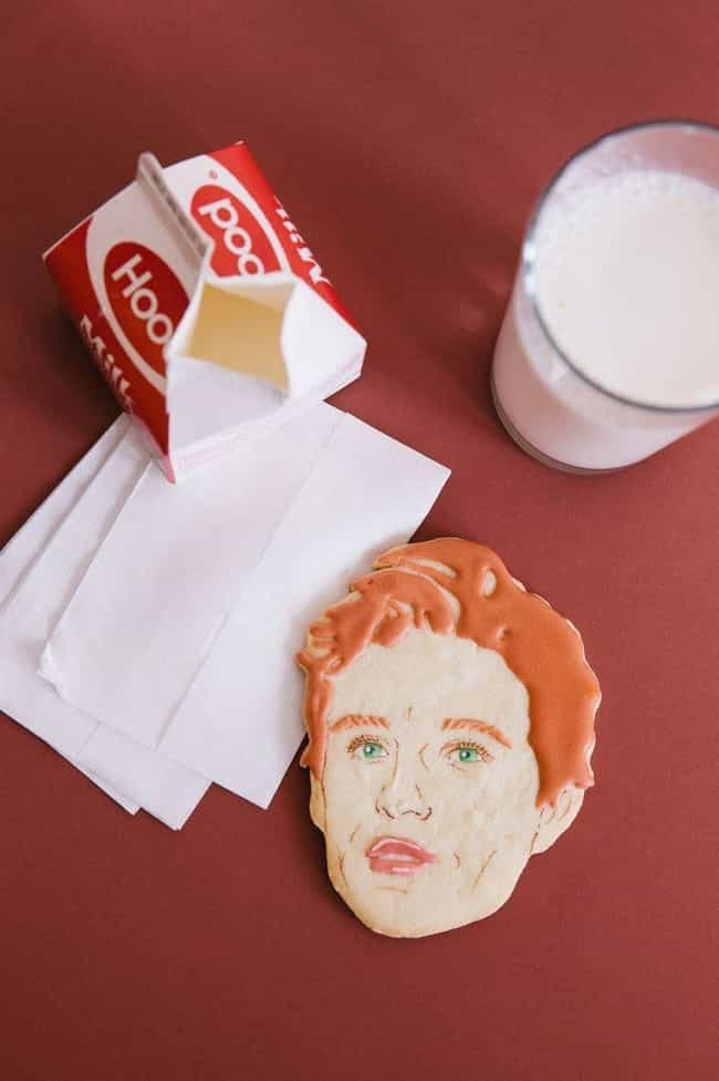 This Eddie Redmayne Cookie Is ... is listed (or ranked) 4 on the list The Most Beautiful Portraits Made with Cookie Icing