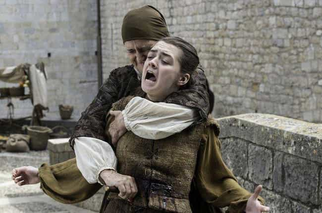 Getting Stabbed Was Just a Tes... is listed (or ranked) 2 on the list Theories And Predictions About Arya's Future