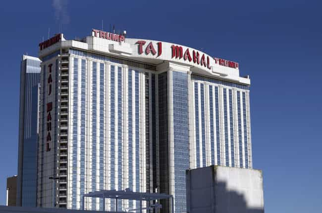 Trump Taj Mahal is listed (or ranked) 3 on the list All of Donald Trump's Businesses, Ranked by Dubiousness