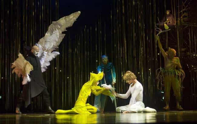 They Never Use Animals is listed (or ranked) 1 on the list Crazy Facts You Didn't Know About Cirque Du Soleil