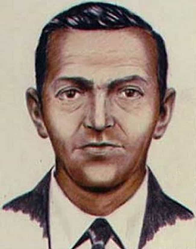 D.B. Cooper is listed (or ranked) 1 on the list 'Unsolved Mysteries': Where Are They Now?