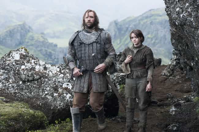 The Hound May Not Take a Direc... is listed (or ranked) 4 on the list Reasons Why Clegane Bowl Will Definitely Happen