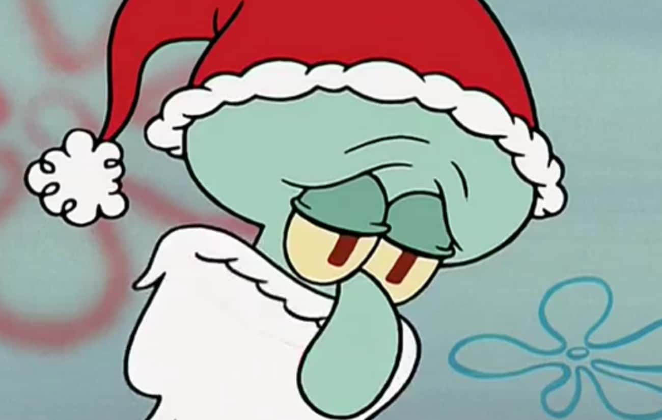 He Dressed Up as Santa to Make is listed (or ranked) 2 on the list 11 Times Squidward Was Actually a Stand-Up Guy