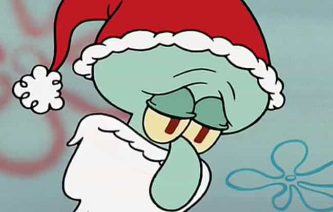 He Dressed Up as Santa t... is listed (or ranked) 3 on the list 11 Times Squidward Was Actually a Stand-Up Guy
