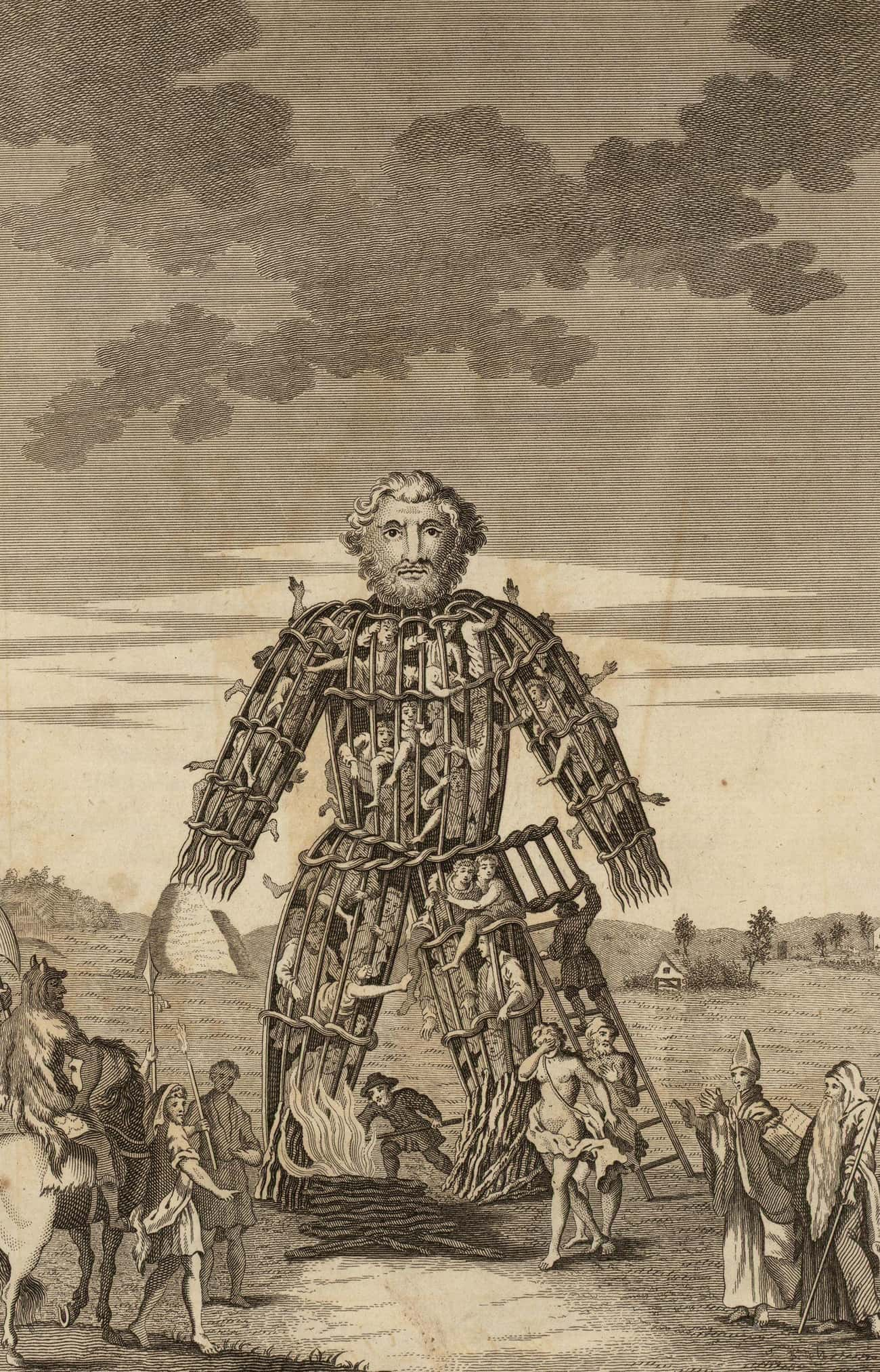 """""""The Wicker Man"""" Is Re is listed (or ranked) 3 on the list Crazy Facts About Britain Before Christianity"""