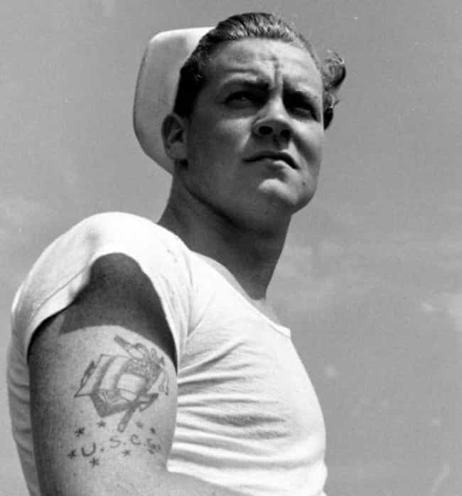 Anchor is listed (or ranked) 2 on the list 14 Common Navy Tattoos and What They Mean