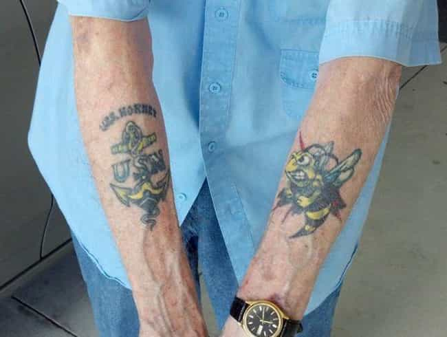 Ship Mascots is listed (or ranked) 3 on the list 14 Common Navy Tattoos and What They Mean
