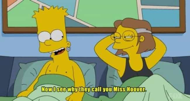 Hoover Has Serious Suction Pow... is listed (or ranked) 7 on the list 18 Simpsons Jokes That Wouldn't Fly Today