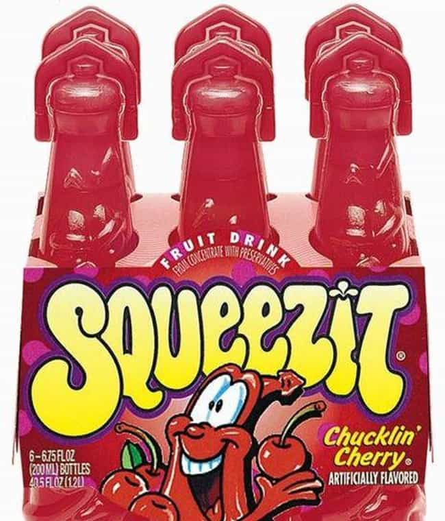 Squeezits is listed (or ranked) 3 on the list The Most Disgusting Food All '90s Kids Ate