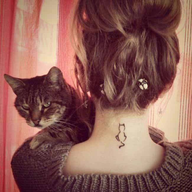 Domestic Cats is listed (or ranked) 3 on the list The Meanings Behind Animal Symbol Tattoos