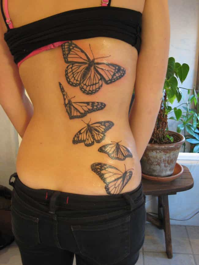 Butterflies is listed (or ranked) 2 on the list The Meanings Behind Animal Symbol Tattoos