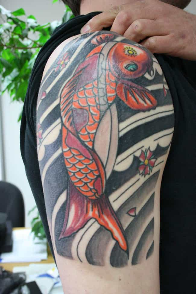 Koi Fish is listed (or ranked) 1 on the list The Meanings Behind Animal Symbol Tattoos
