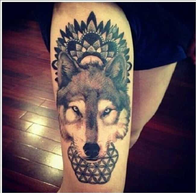 Wolves or Wild Dogs is listed (or ranked) 4 on the list The Meanings Behind Animal Symbol Tattoos