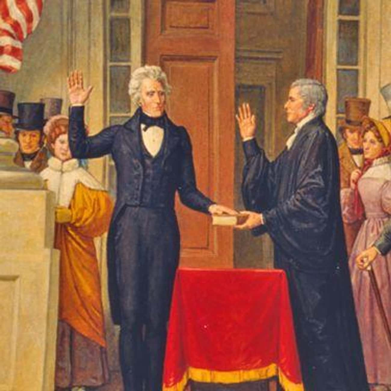 Andrew Jackson's Inaugural Was a Huge Blow Out Bash