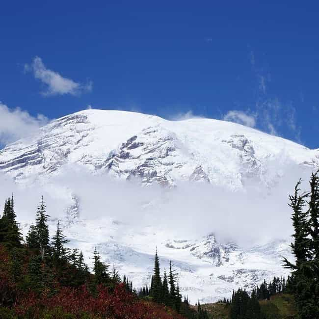Mount Rainier Is Just a ... is listed (or ranked) 4 on the list Creepy Stories from the Pacific Crest Trail