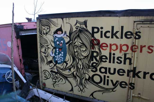 German Police Stop for Pickles... is listed (or ranked) 4 on the list The Biggest Drug Stashes Ever Found