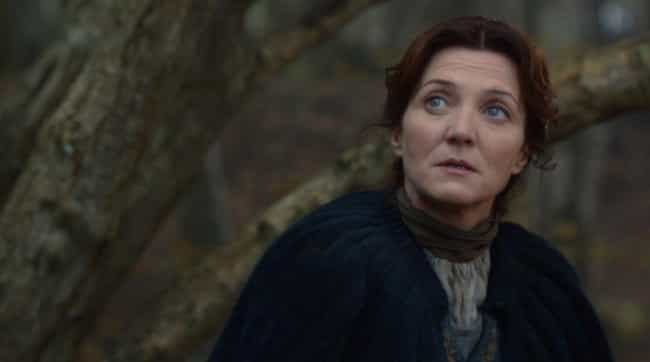 Michelle Fairley Was Spotted w... is listed (or ranked) 4 on the list Reasons We're Sure We Haven't Seen the Last of Catelyn Stark
