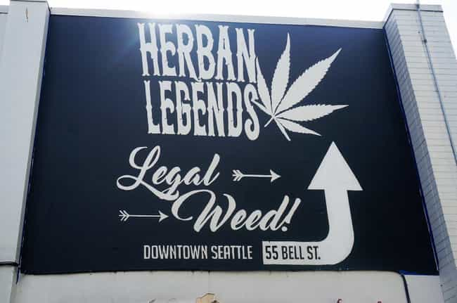 Finally a Legend You Can... is listed (or ranked) 4 on the list Dispensary Signs So Funny You'll Get a Contact High