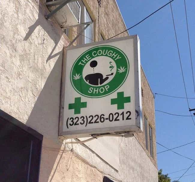 The Wake and Baker's Bes... is listed (or ranked) 1 on the list Dispensary Signs So Funny You'll Get a Contact High