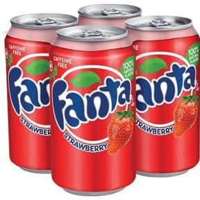 Strawberry Fanta is listed (or ranked) 2 on the list The Best Fanta Flavors