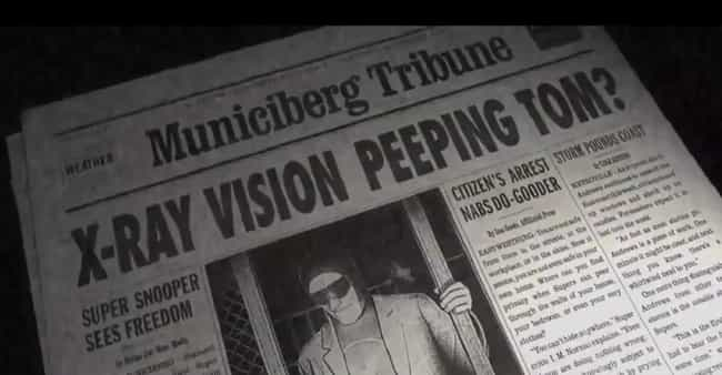 The Peeping Tom is listed (or ranked) 2 on the list Adult Jokes You Never Noticed in the Incredibles