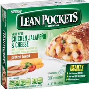 Chicken Jalapeno & Cheese Lean is listed (or ranked) 22 on the list The Best Hot Pocket Flavors
