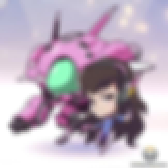 D.Va is listed (or ranked) 3 on the list Overwatch Heroines You'd Want to Have a Romantic Dinner With