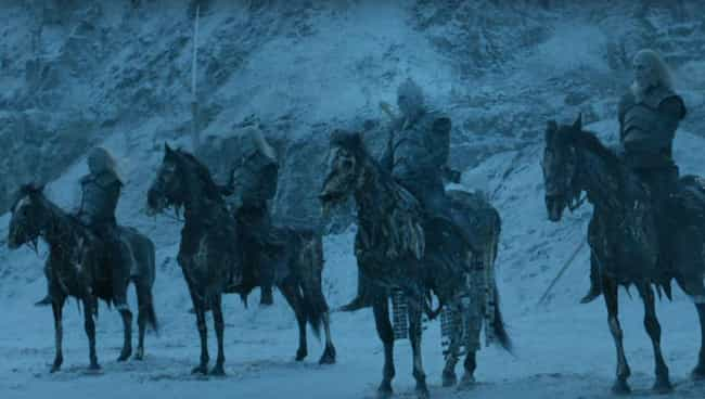 The White Walkers May Have Bui... is listed (or ranked) 1 on the list The Wall Is Coming Down Soon In Game Of Thrones, And We Can Prove It