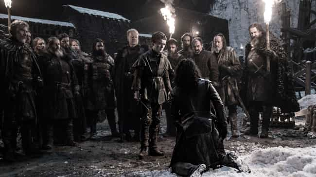 Alliser Thorne's Betrayal ... is listed (or ranked) 2 on the list The Wall Is Coming Down Soon In Game Of Thrones, And We Can Prove It