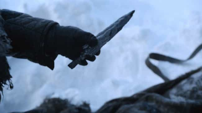 Dragonglass is listed (or ranked) 3 on the list The Best Weapons on 'Game of Thrones' (And What to Know About Them)