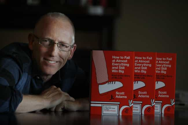 He Is A Trained Hypnotist is listed (or ranked) 2 on the list 22 Fun Facts You May Not Know About the Creator of Dilbert
