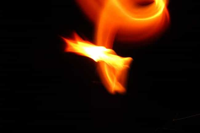 Astronauts Saw Fire Burn Without A Flame