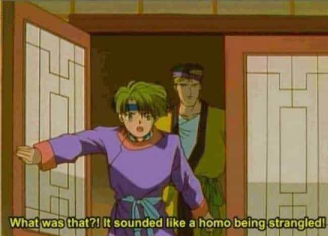 The Sound of Silence is listed (or ranked) 3 on the list 21 Morally Questionable (and Hilarious) Anime Subtitles