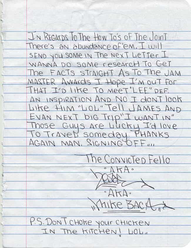 writing a letter to an inmate best of writing a letter to an inmate cover letter examples 30181