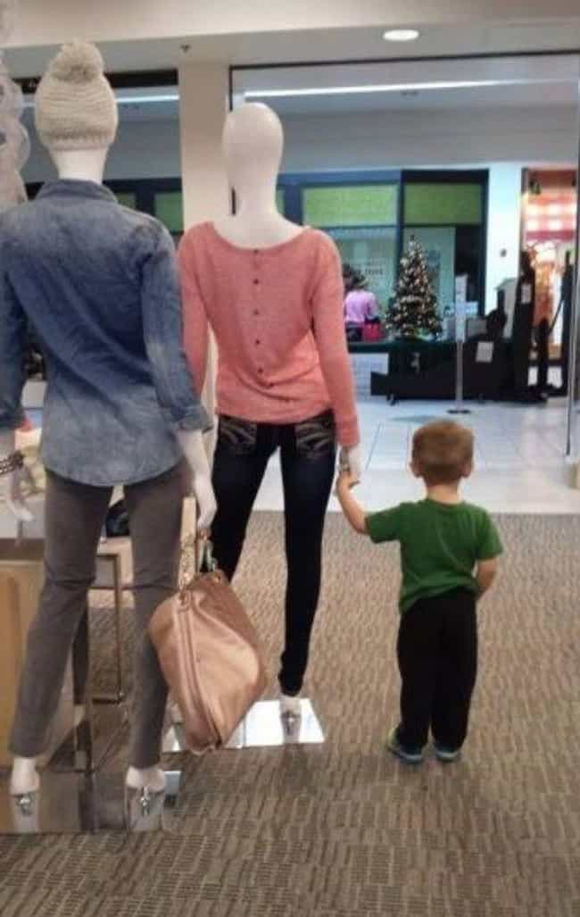 Model Parent is listed (or ranked) 4 on the list The 24 Funniest Moments In Mannequin History