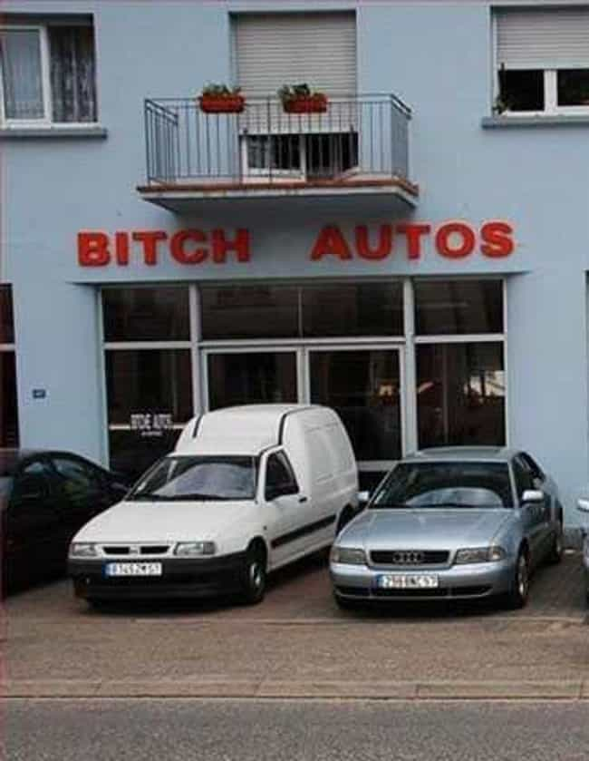 Something Was Lost in Tr... is listed (or ranked) 4 on the list The Funniest Car Dealership Names Ever