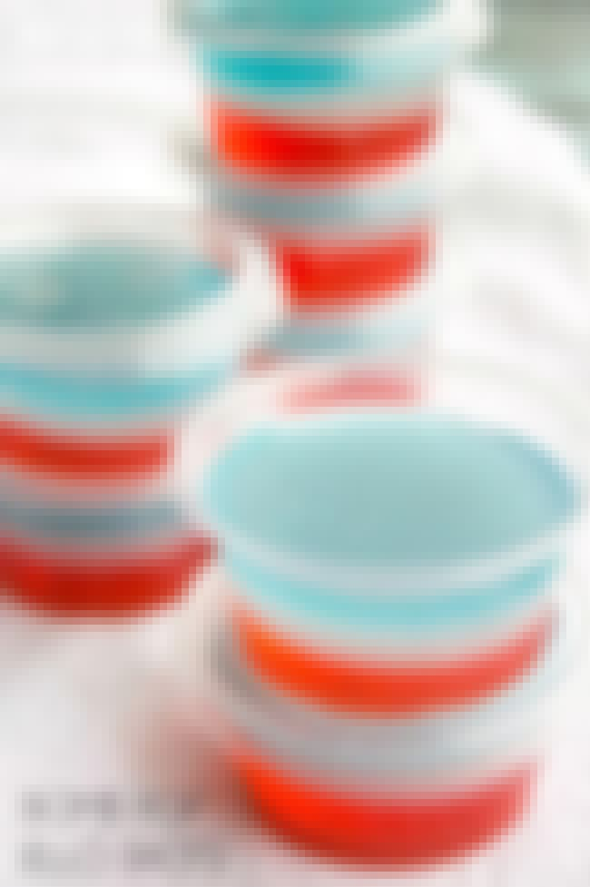 Bomb Pop Jell-O Shots is listed (or ranked) 1 on the list Jell-O Shot Ideas You Need in Your Life Immediately