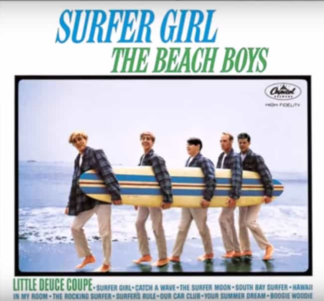 They Had an All Original Album... is listed (or ranked) 2 on the list Groovy Things You Didn't Know About the Beach Boys