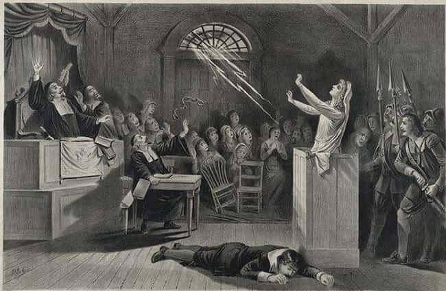 The Salem Witch Trials ... is listed (or ranked) 1 on the list The Biggest Religious Panics in US History