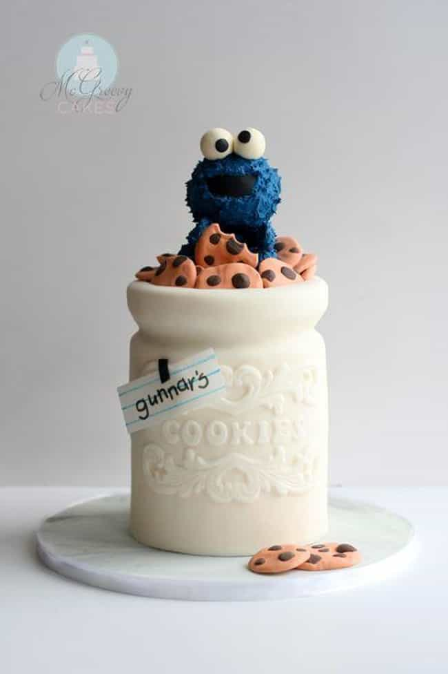 """Cookie Jar Cake is listed (or ranked) 1 on the list The Coolest """"How Did They Do That?"""" Cakes"""