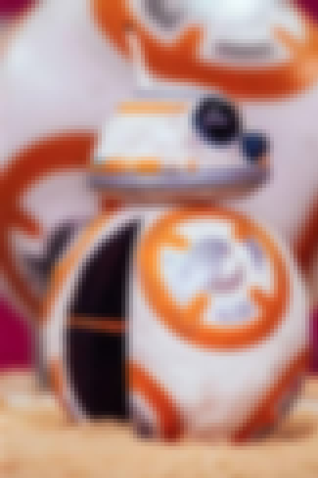 "Chocolate BB-8 Star Wars Cake is listed (or ranked) 4 on the list The Coolest ""How Did They Do That?"" Cakes"