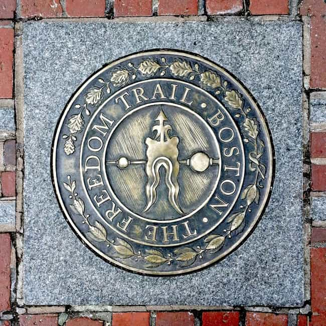 Boston Freedom Trail is listed (or ranked) 1 on the list The Coolest Places to Visit from Colonial America