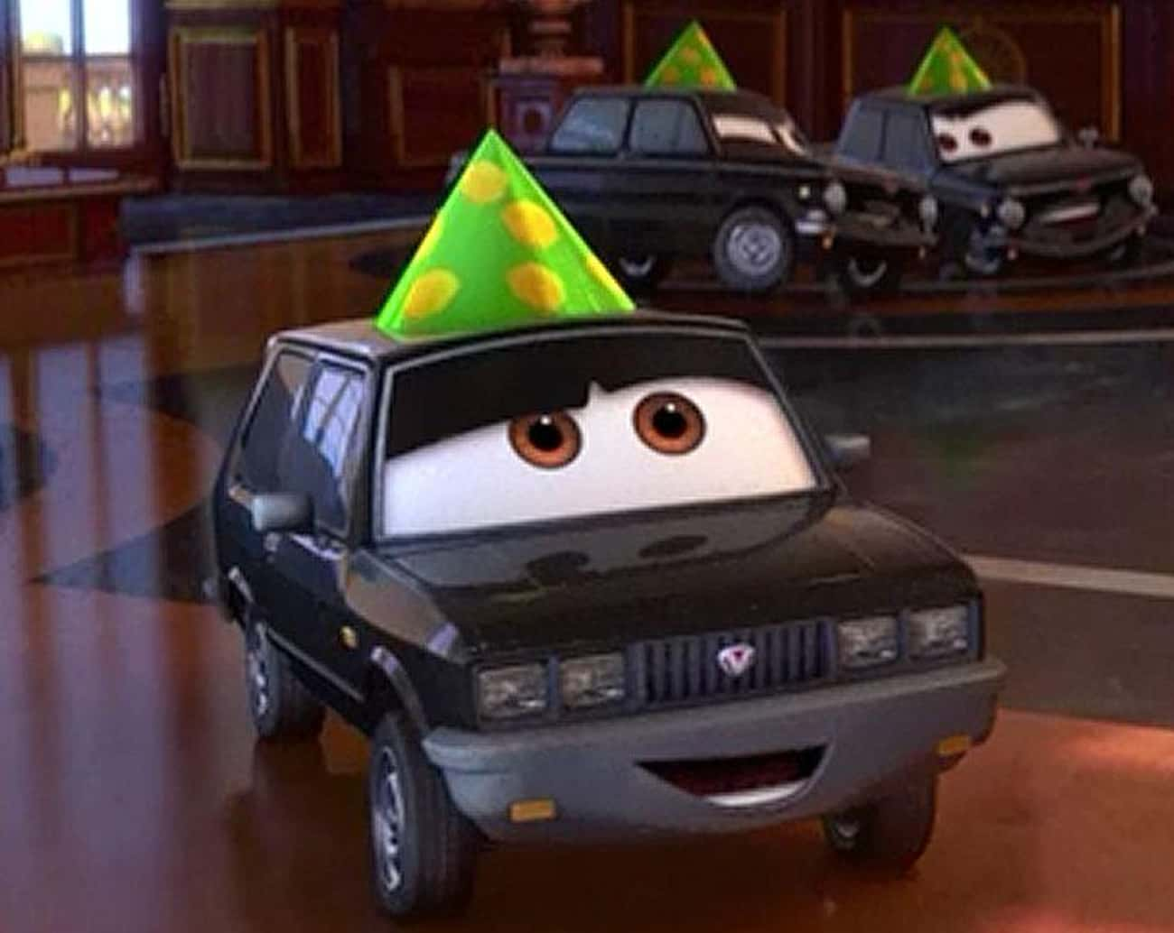 Cars 2 - Lemon Party is listed (or ranked) 4 on the list Off-Color Jokes For Grown-Ups That Kids Never Noticed In Pixar Movies