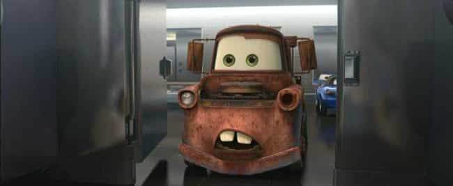 Cars 2 - 'And When She Sta... is listed (or ranked) 3 on the list Adult Jokes You Never Noticed in Pixar Movies