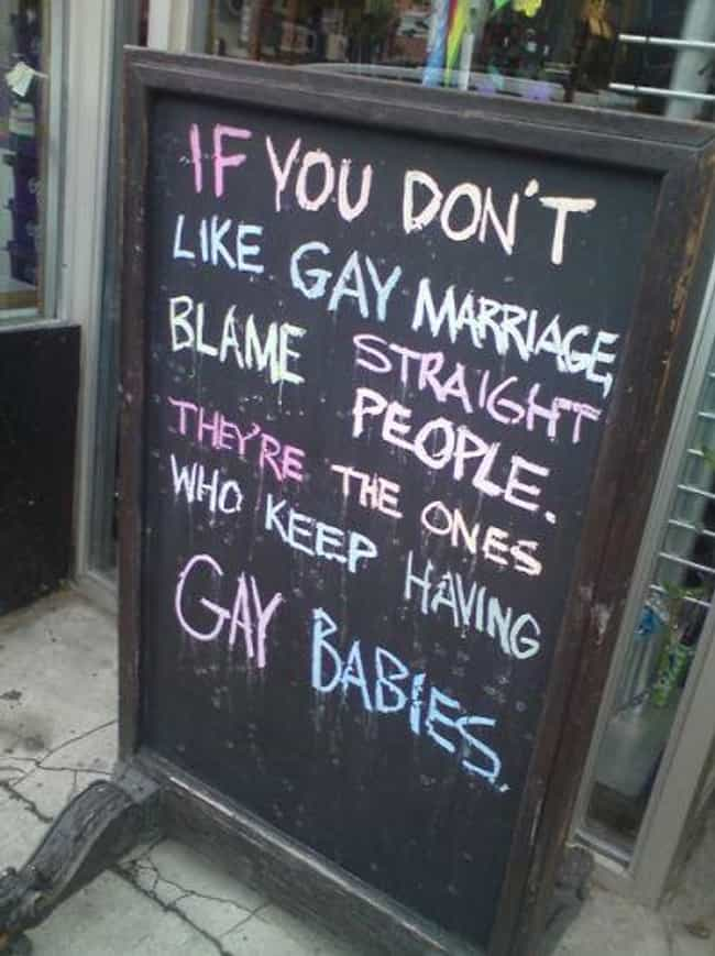 """The Origin of the """"... is listed (or ranked) 2 on the list The Greatest Signs from Pride Month"""